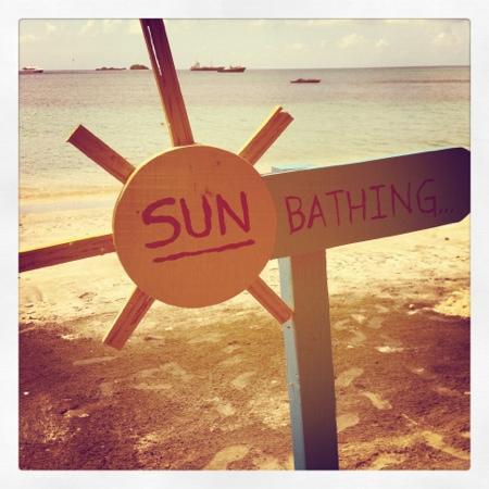 sun-bathing-sign